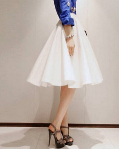 99008b2c82 Detail Feedback Questions about Retro Pleated Midi Skirt High ...